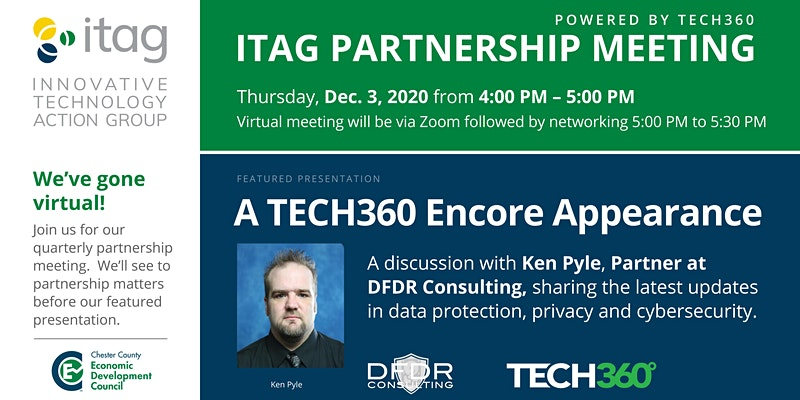 ITAG Partnership Meeting, featuring a presentation from Ken Pyle